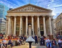 Lo scambio reale Londra Immagine Stock Libera da Diritti