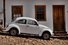 Lo scarabeo di Volkswagen ha chiamato Fusca nel Brasile fotografie stock libere da diritti