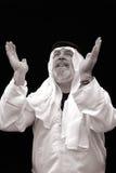 Lo sceicco Praying Fotografia Stock Libera da Diritti