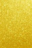 Lo scintillio dell'oro Stars il fondo Fotografia Stock Libera da Diritti