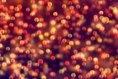 Lo scintillio digitale di Natale scintilla il multi flo del bokeh delle particelle di colore Immagine Stock Libera da Diritti