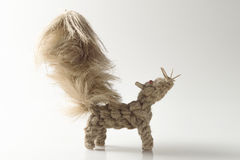 lo scoiattolo tricotta Fotografia Stock