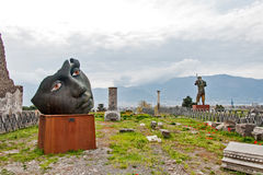 Lo sguardo della statua Fotografia Stock Libera da Diritti