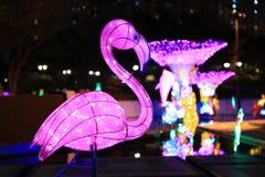 Lo Sha Tin Festive Lighting 2016 immagini stock libere da diritti