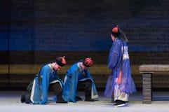 """Lo Shan di Qing Dynasty genuflessione-Shanxi Operatic""""Fu al  di Beijing†Fotografia Stock Libera da Diritti"""
