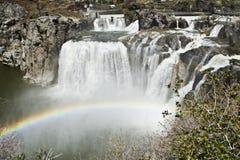 Lo Shoshone cade l'Idaho fotografie stock