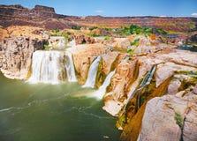 Lo Shoshone cade l'Idaho Fotografie Stock Libere da Diritti
