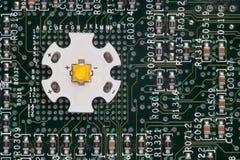 Lo smd potente ha ingannato il circuito di alluminio della stella Immagini Stock Libere da Diritti