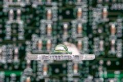 Lo smd potente ha ingannato il circuito di alluminio della stella Immagine Stock