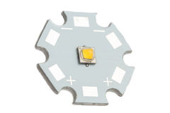 Lo smd potente ha ingannato il circuito di alluminio della stella Fotografia Stock Libera da Diritti