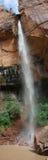 Lo smeraldo superiore cade nella sosta nazionale di Zion Immagini Stock
