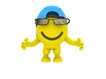 Lo smiley Immagine Stock