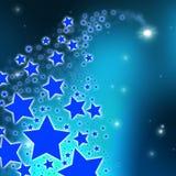 Lo spazio delle stelle mostra l'astronomia Celestial And Abstract Immagini Stock
