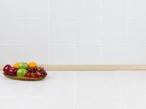 Lo spazio vuoto nella cucina immagini stock libere da diritti