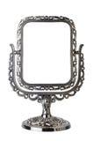 Lo specchio antico ha isolato fotografie stock