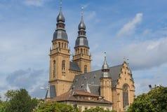 Lo Speyer Città Vecchia, Reno River Valley germany fotografia stock libera da diritti