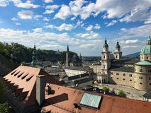 lo Sphaera a Salisburgo in Austria fotografie stock libere da diritti