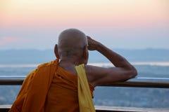 Lo spirito del Myanmar fotografia stock libera da diritti