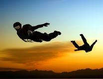 Lo sport è in cielo Immagini Stock Libere da Diritti