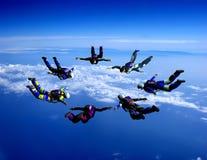 Lo sport è in cielo Fotografia Stock