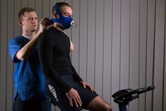 Lo sport professionale richiede l'allenamento professionale Fotografie Stock