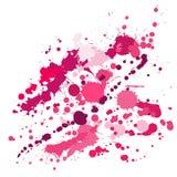 Lo spruzzo dei graffiti macchia il vettore del fondo di lerciume L'inchiostro casuale schizza, macchie dello spruzzo, gli element royalty illustrazione gratis