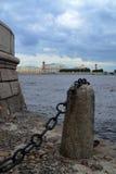 Lo sputo dell'isola di Vasilievsky Fotografie Stock Libere da Diritti