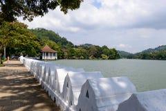 Lo Sri Lanka. Il divisorio centrale Kandy fotografia stock libera da diritti