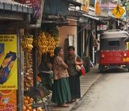 Lo Sri Lanka, streetlife Immagini Stock