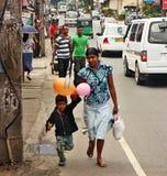 Lo Sri Lanka, streetlife Immagine Stock Libera da Diritti
