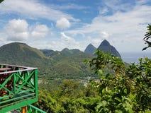 Lo St Lucia Immagine Stock Libera da Diritti
