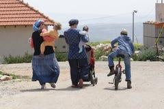Lo stabilimento di Migron. L'Israele. Immagini Stock Libere da Diritti