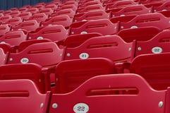 Lo stadio di baseball mette 21 a sedere Immagini Stock Libere da Diritti
