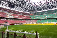 Lo Stadio Giuseppe Meazza immagine stock