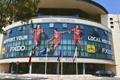 Lo stadio nazionale di Malta. Fotografia Stock