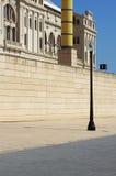 Lo Stadio Olimpico Barcellona Fotografie Stock Libere da Diritti