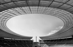 Lo Stadio Olimpico di Berlino Immagini Stock Libere da Diritti