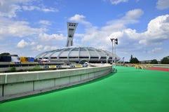 Lo stadio olimpico di Montreal Fotografie Stock Libere da Diritti