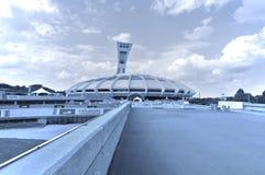 Lo stadio olimpico di Montreal Immagine Stock Libera da Diritti