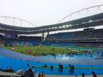 Lo Stadio Olimpico João Avelange - Rio 2016 fotografia stock