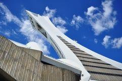 Lo Stadio Olimpico a Montreal Fotografie Stock