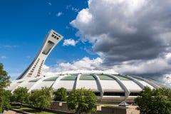 Lo Stadio Olimpico a Montreal, Canada immagine stock libera da diritti