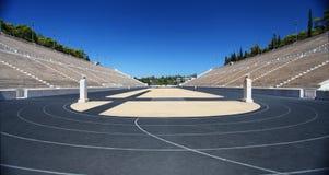 Lo stadio panatenaico a Atene Fotografia Stock Libera da Diritti