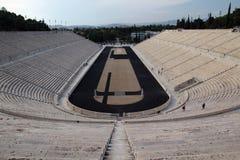Lo stadio panatenaico, Atene, Grecia Immagini Stock Libere da Diritti