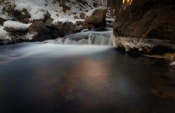 Lo stagno profondo di inverno Fotografia Stock