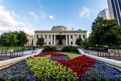 Lo Statehouse dell'Ohio a Columbus, Ohio Fotografia Stock Libera da Diritti