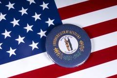Lo stato del Kentucky in U.S.A. fotografie stock libere da diritti