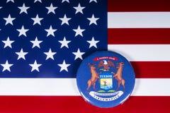 Lo stato del Michigan in U.S.A. fotografie stock libere da diritti