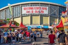 Lo stato dell'Arizona giusto fotografia stock