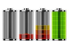 Lo stato della batteria Immagine Stock
